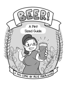 Comic Cover - Beer! A Pint-Sized Guide