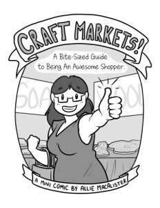 Comic Cover - Craft Markets!
