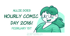 Allie Does Hourly Comic Day!