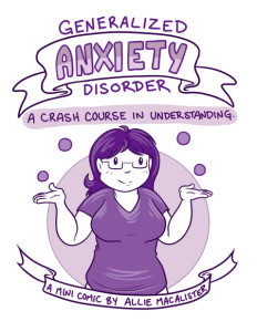Comic Cover: Generalized Anxiety Disorder