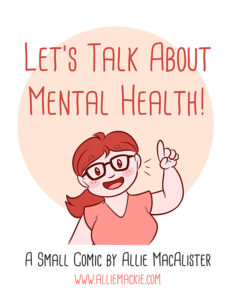 Comic Cover: Let's Talk About Mental Health
