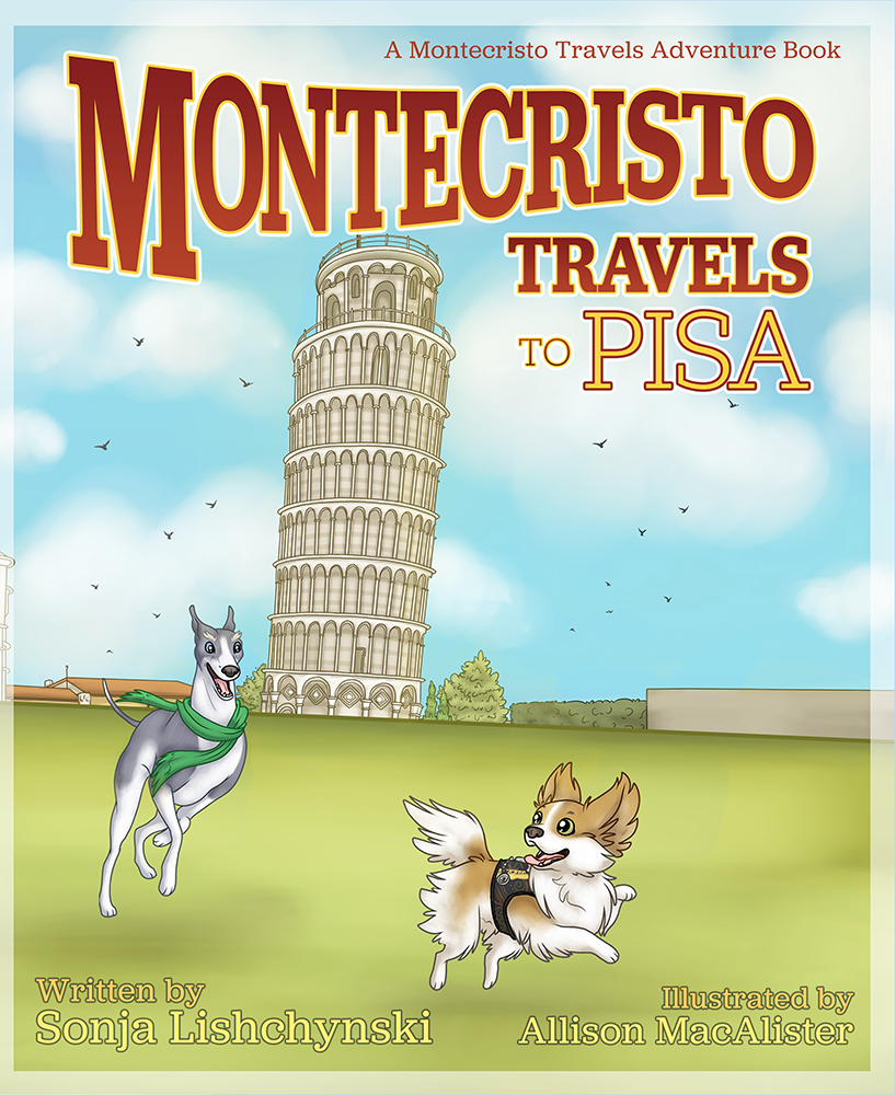 Montecristo Travels to Pisa - Front Cover