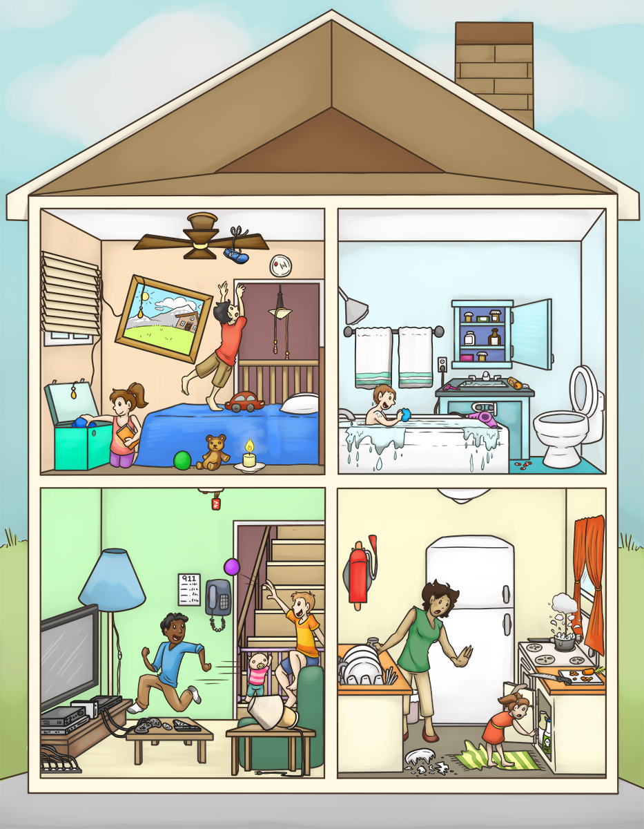 Canadian Red Cross - Spot The Household Dangers