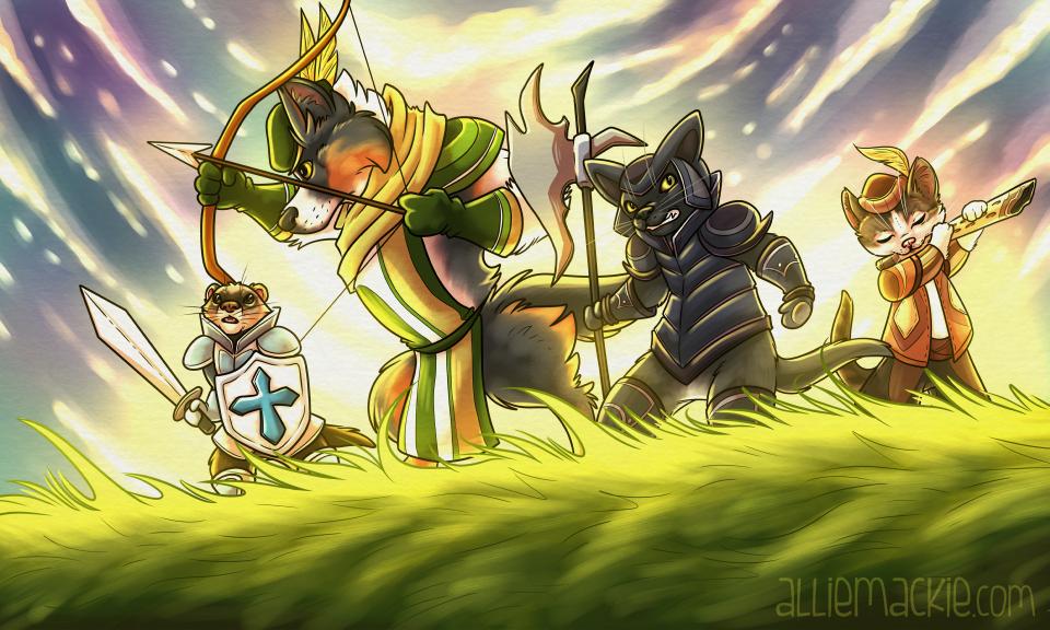 The RPG Squad - Pet Portrait