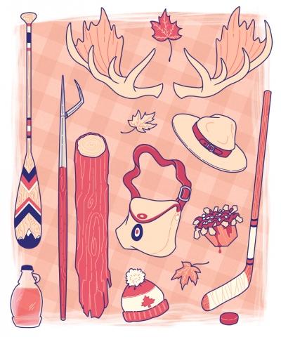 Canuck Inventory Art Print