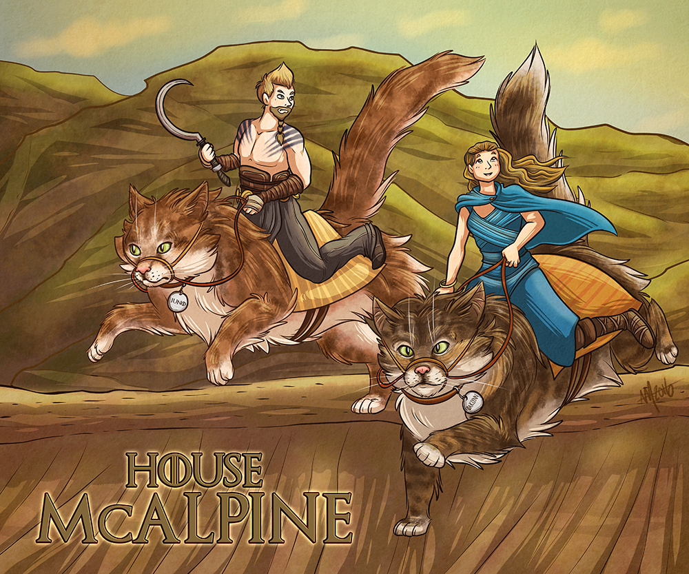 """House McAlpine"" illustration"